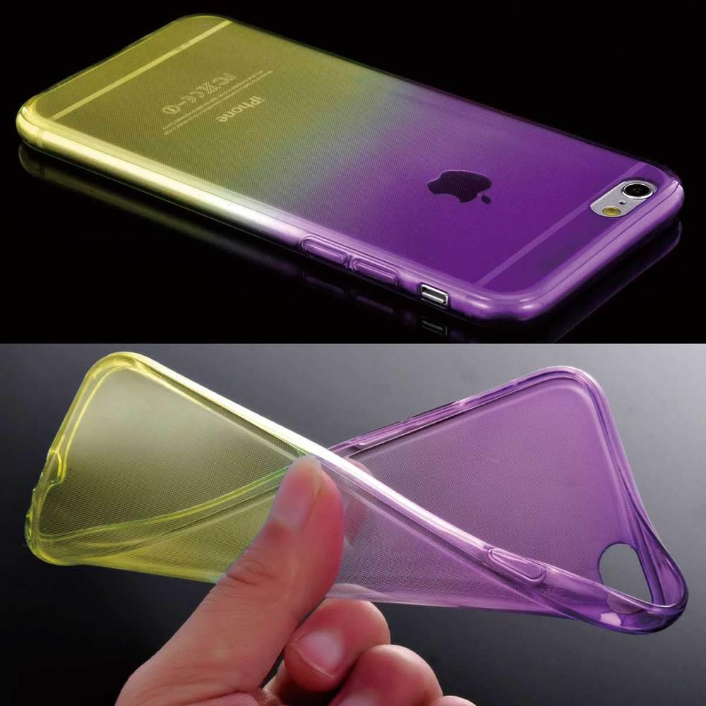 silicone iphone 5 case silicone gel rubber shockproof clear slim soft cover 9317
