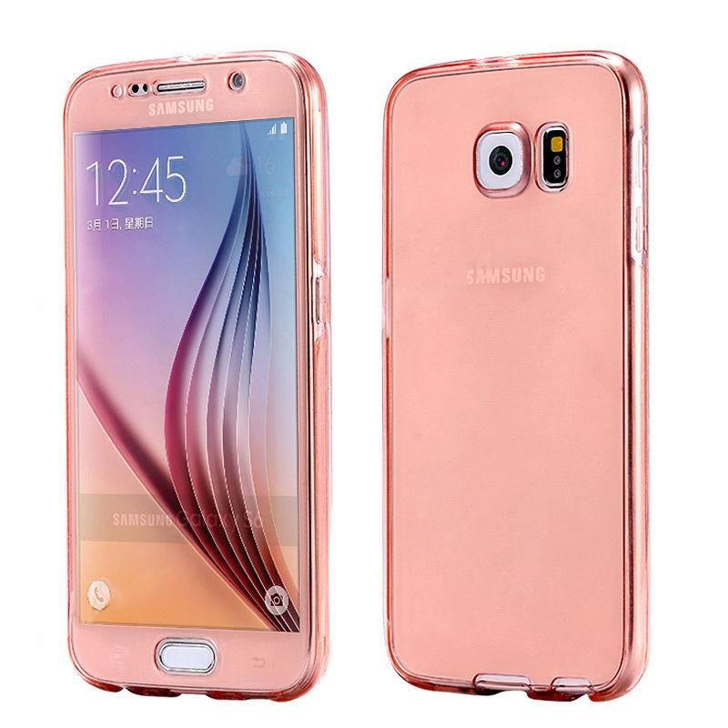 shockproof 360 protective clear gel case cover for samsung galaxy a3 a5 a7 2017 ebay. Black Bedroom Furniture Sets. Home Design Ideas