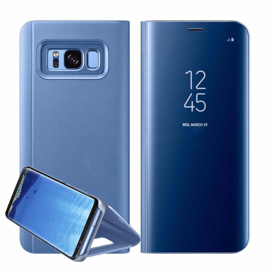 What Does Sms Stand For >> New Samsung Galaxy S8 Plus Note8 Clear View Mirror Leather ...