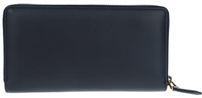 c4ccd9388a4 NEW GUCCI BLK LEATHER BLIND FOR LOVE ZIP AROUND LONG CLUTCH WALLET W BOX  UNISEX
