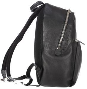 35496ddb52 NEW FENDI ROMA BLACK ROMAN LEATHER SELLERIA BACKPACK BAG HANDMADE IN ITALY