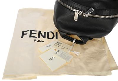 650526d7bf DESCRIPTION. NEW WITH TAGS AND DUST COVER FENDI ROMA CURRENT ROMAN LEATHER  LARGE SELLERIA BACKPACK BAG. HANDMADE IN ITALY.