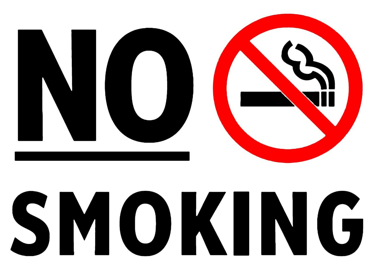NO SMOKING SIGN GLOSSY POSTER PICTURE PHOTO non smoke ...