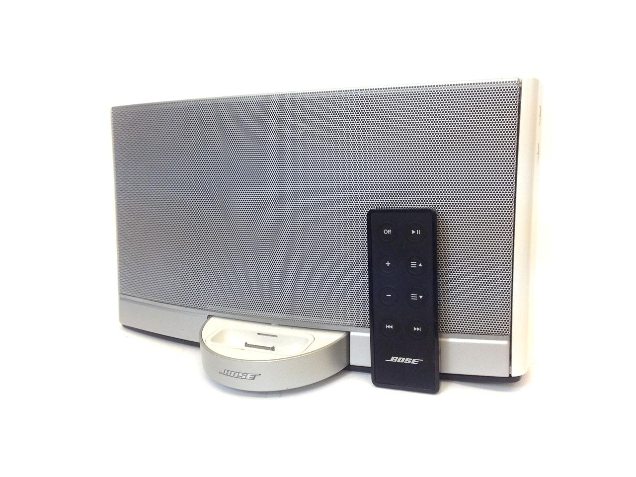 bose sound dock ipod iphone portable speaker white ebay. Black Bedroom Furniture Sets. Home Design Ideas