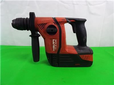 hilti te 6 a36 cordless hammer drill 36v 3 0 ah battery. Black Bedroom Furniture Sets. Home Design Ideas