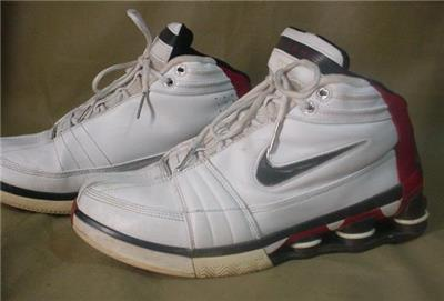7cdc9021a09d NIKE Shox 2004 Vince VC CARTER Basketball Shoes Size Sz 11 VINTAGE ...