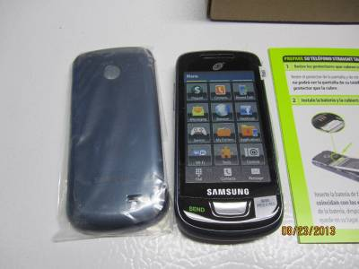 Touch screen straight talk phone - Handbag storage organizer