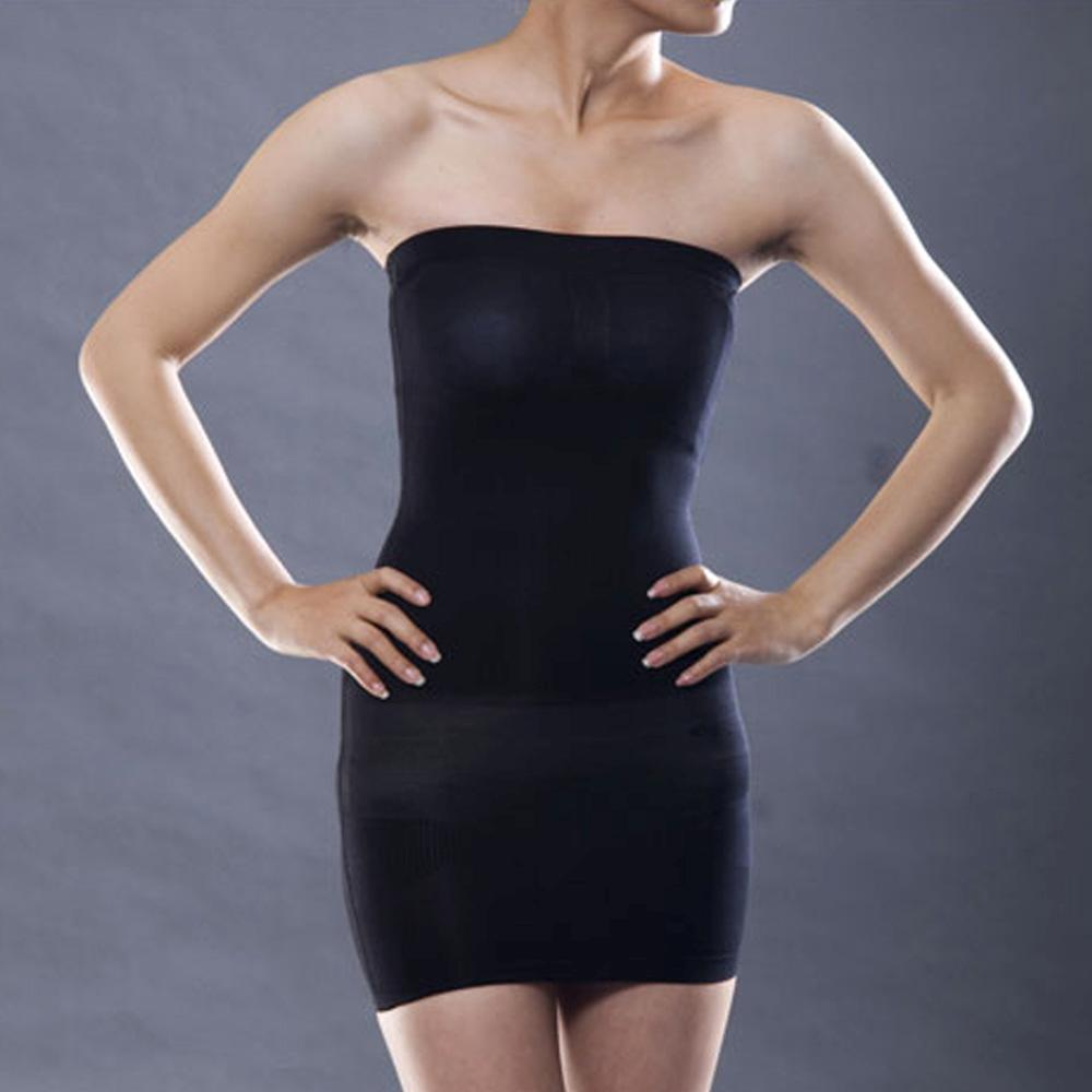 fd76c2b22e6 Sexy Slimming Tube Top Stretch Strapless Slip Mini Dress SS-W03 ...