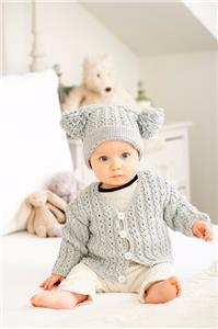 11d767f1dc60 KING COLE BABY BOOK 5 FIVE - 35 STYLISH KNITS FOR TINY PREMATURE TO ...