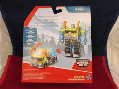 Transformers Playskool Rescue Bots Rescan Salvage