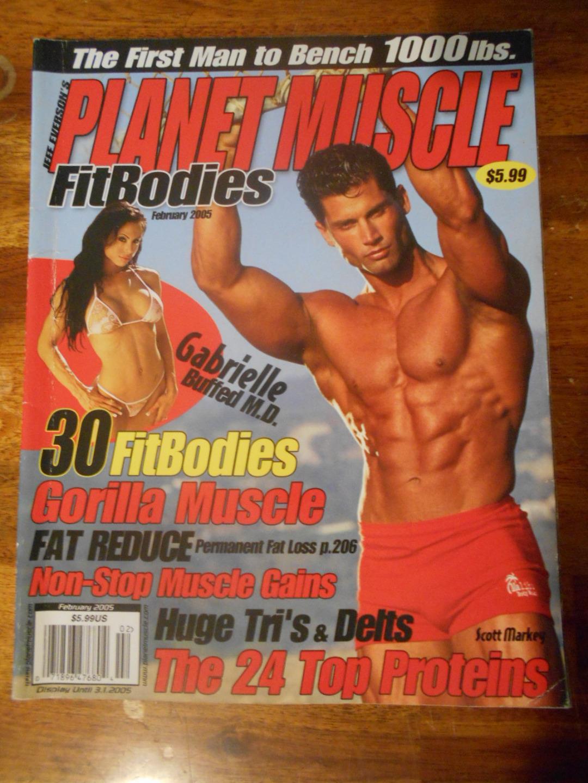 PLANET MUSCLE bodybuilding fitness magazine SCOTT MARKEY