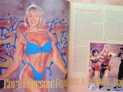 MS. FITNESS exercise figure muscle magazine/CORY EVERSON