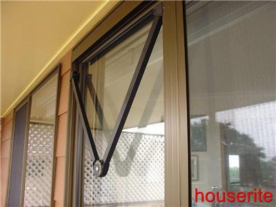 Sliding Insect Screen Door Closer Glass Reinforced