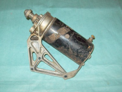 Electric Starter 1960 Gale 35 HP Outboard Motor OMC Evinrude Johnson