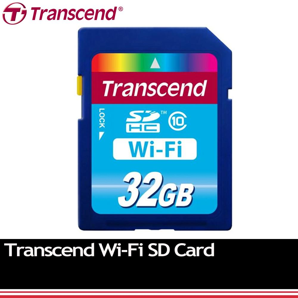 transcend wi fi wifi wireless sdhc sd card class 10 32gb. Black Bedroom Furniture Sets. Home Design Ideas