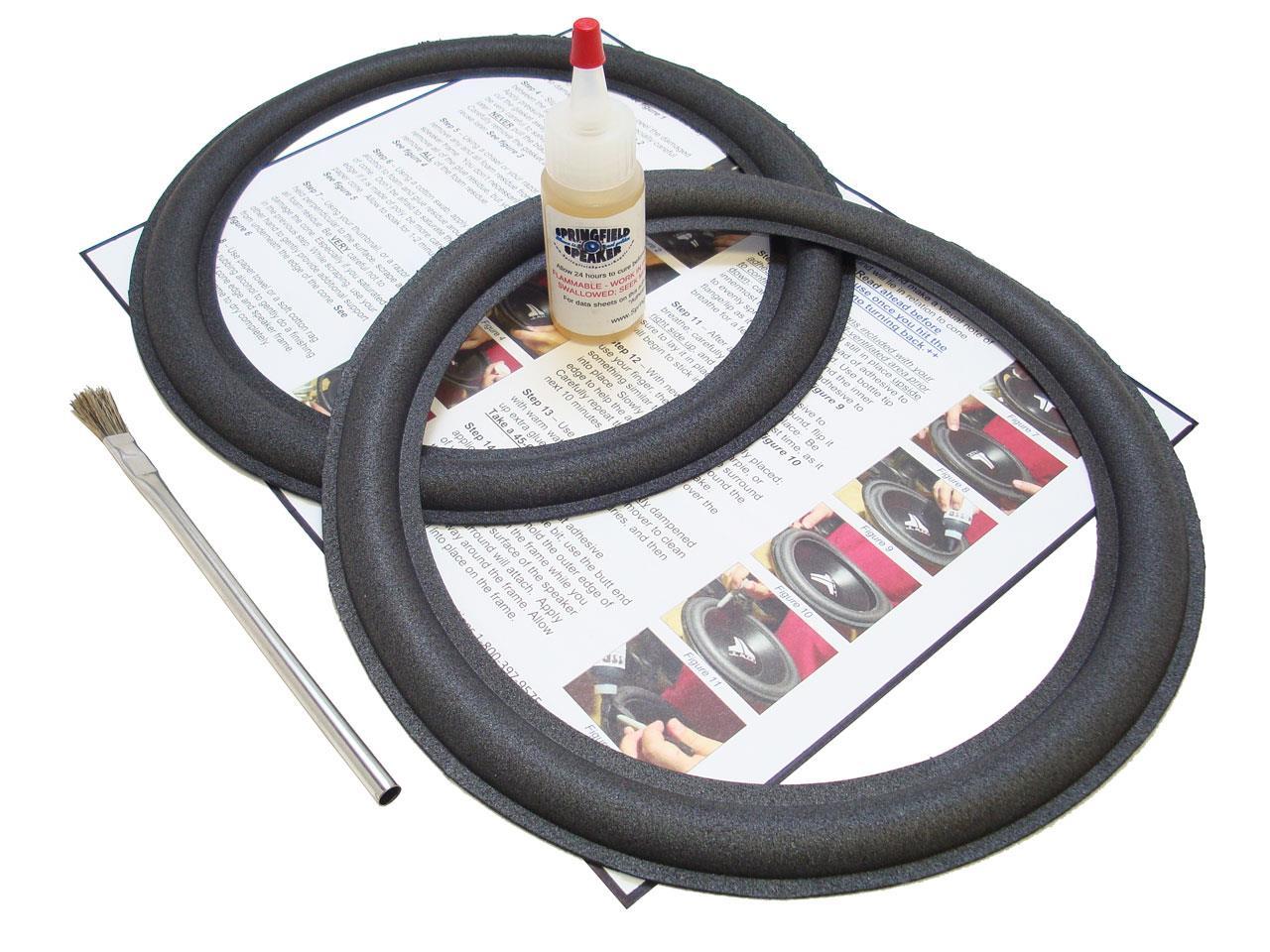 advent 10 10990536 speaker foam repair kit 10990605 a2. Black Bedroom Furniture Sets. Home Design Ideas