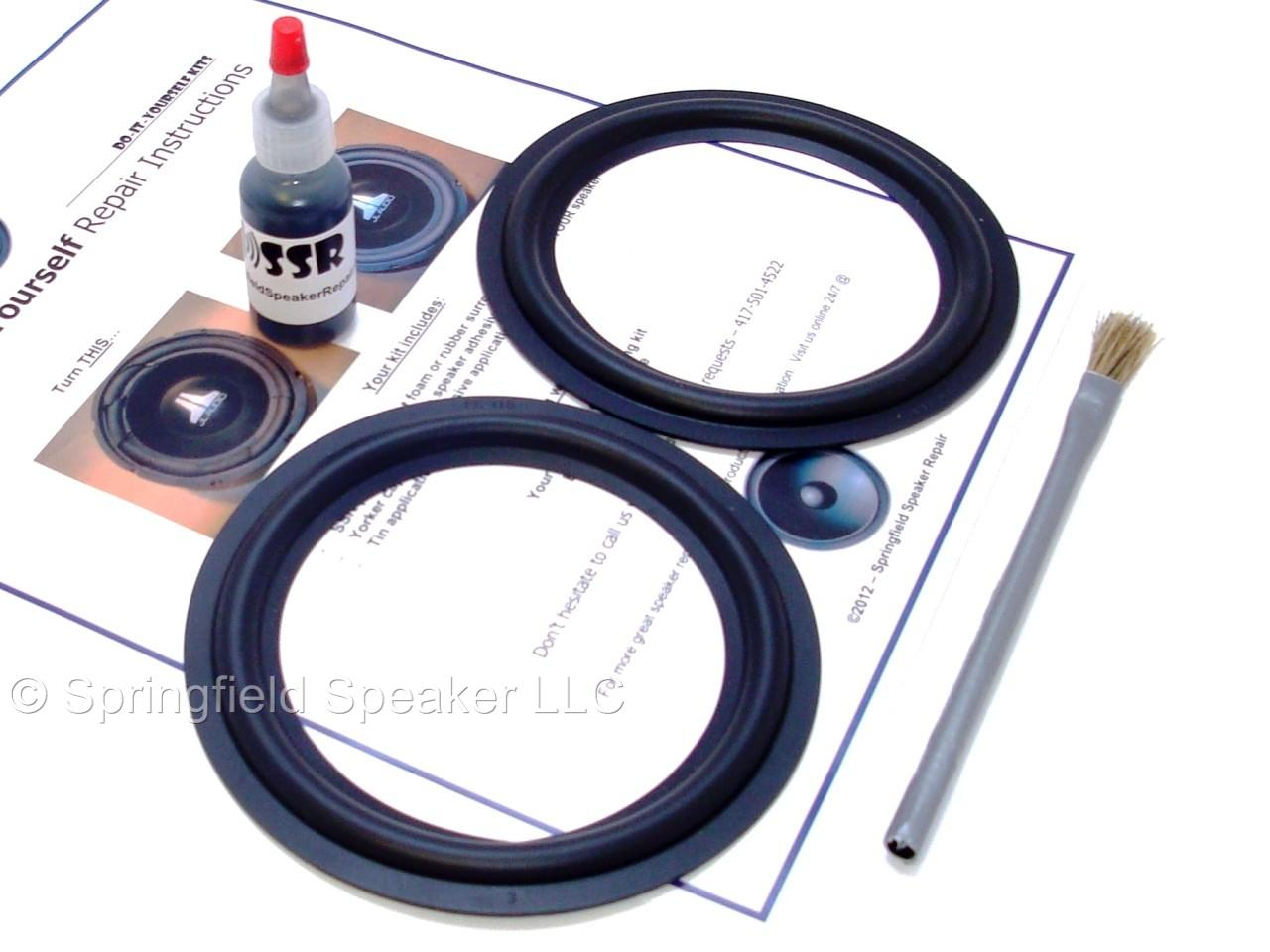Standard 5.25 Inch Foam Speaker Repair Kit FSK-5.25 Pair