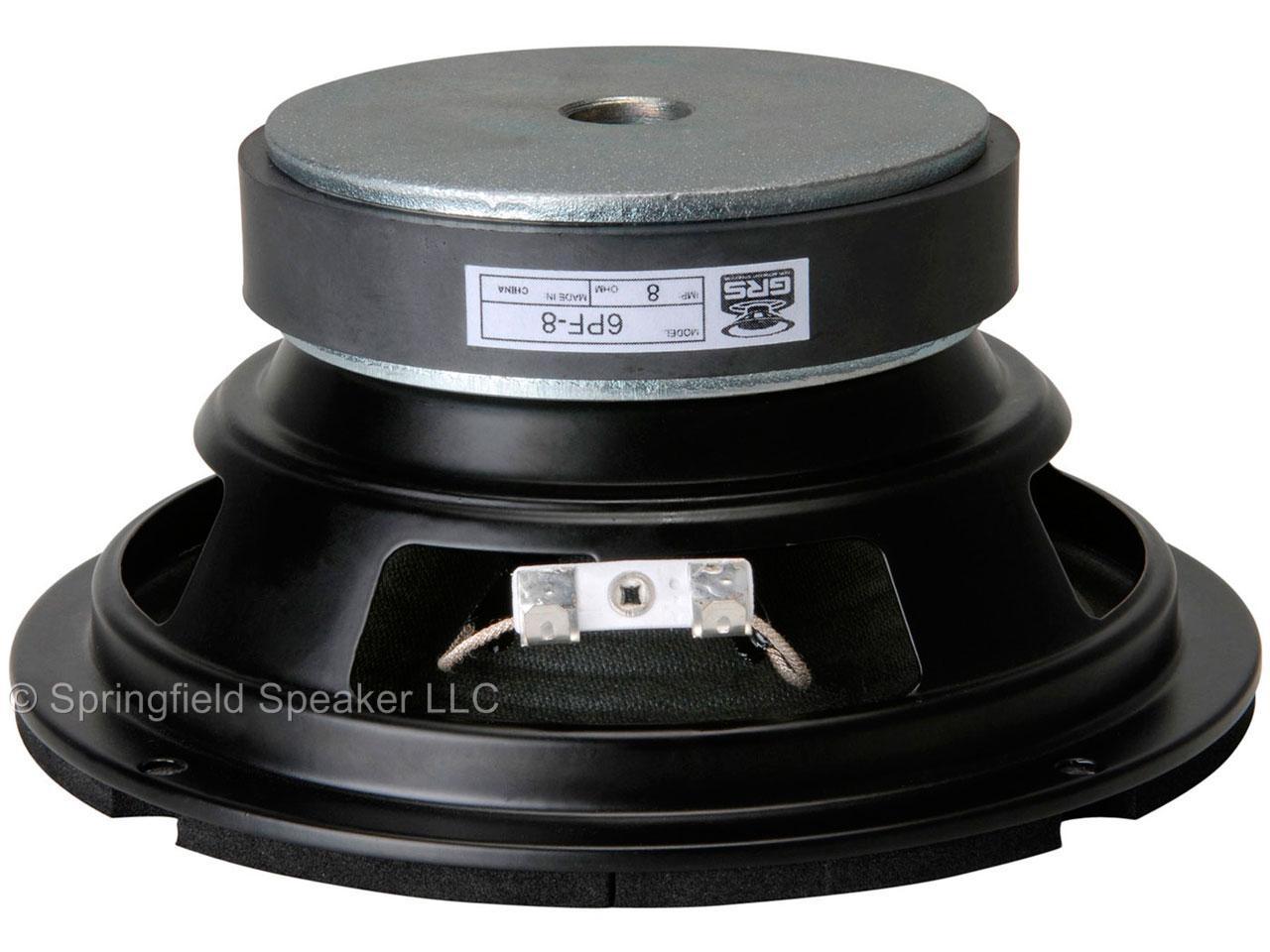 6 1 2 Quot Paper Cone Foam Surround Replacement Speaker