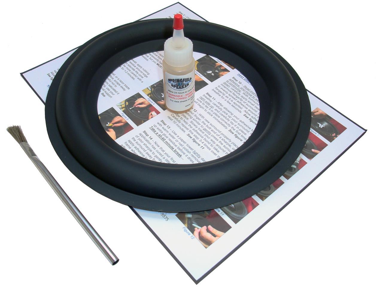 10 Rockford Fosgate Hx2 Punch Subwoofer Rubber Surround Repair Kit 12