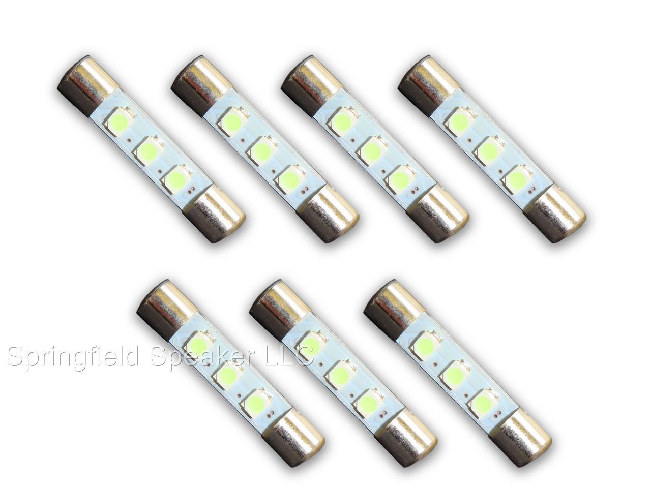 7 Warm White 8v Led Lamp Fuse Type Bulbs For Marantz