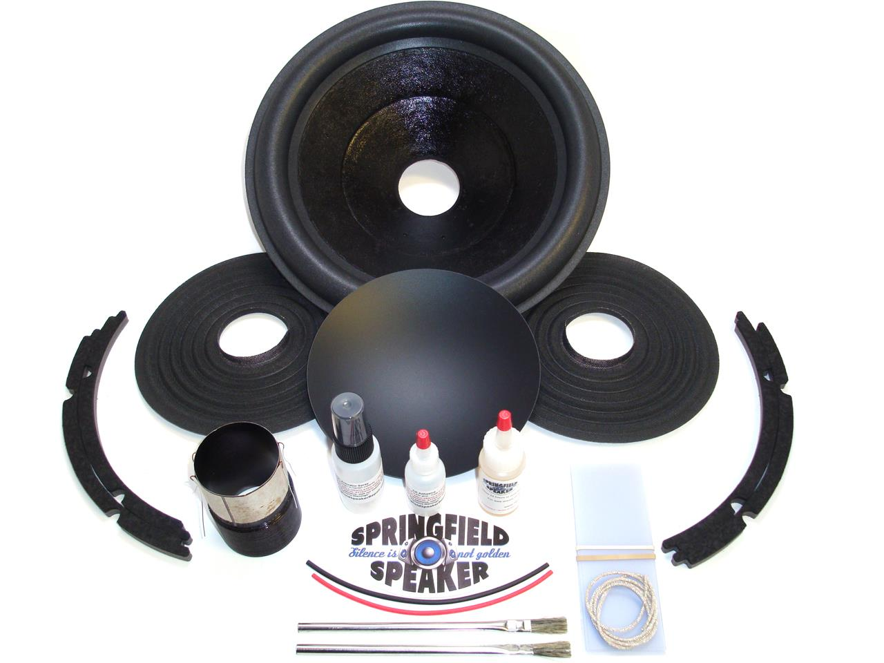 Complete Alpine Swr 1242d Recone Kit Dual 4 Ohm Incl Adhesives 12 Inch Subwoofers Type R Wiring For The 10 Subwoofer