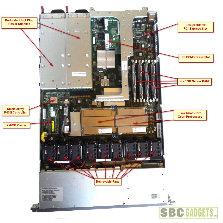 Hp Dl360 G5 ilo 2 firmware