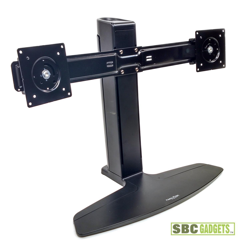 Ergotron Neo Flex Dual Lcd Monitor Lift Stand Good