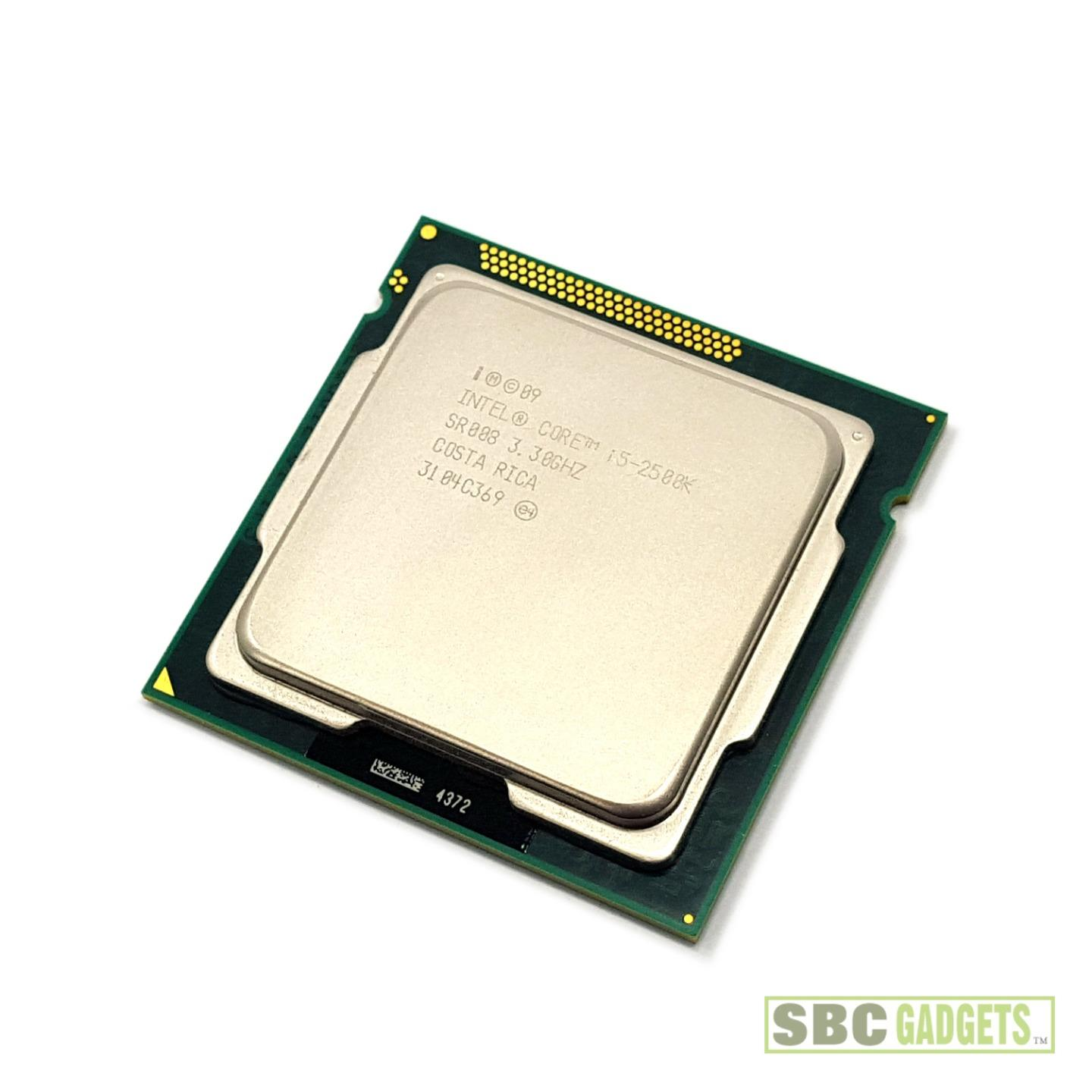 Intel Core i5-2500K 3.3GHz Quad-Core Unlocked CPU Processor (LGA 1155, 6MB, 95W) | eBay