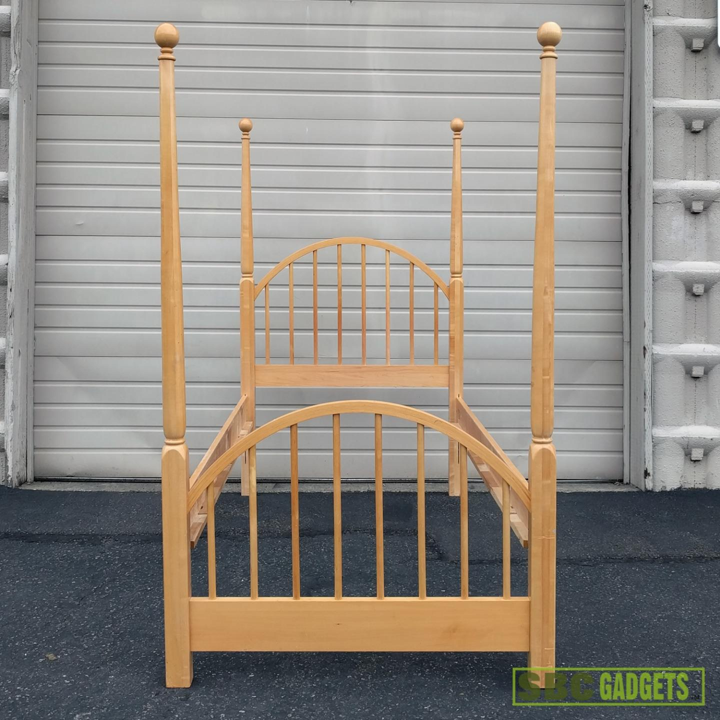 Stanley Furniture Solid Wood Bed Frame Twin Bed W