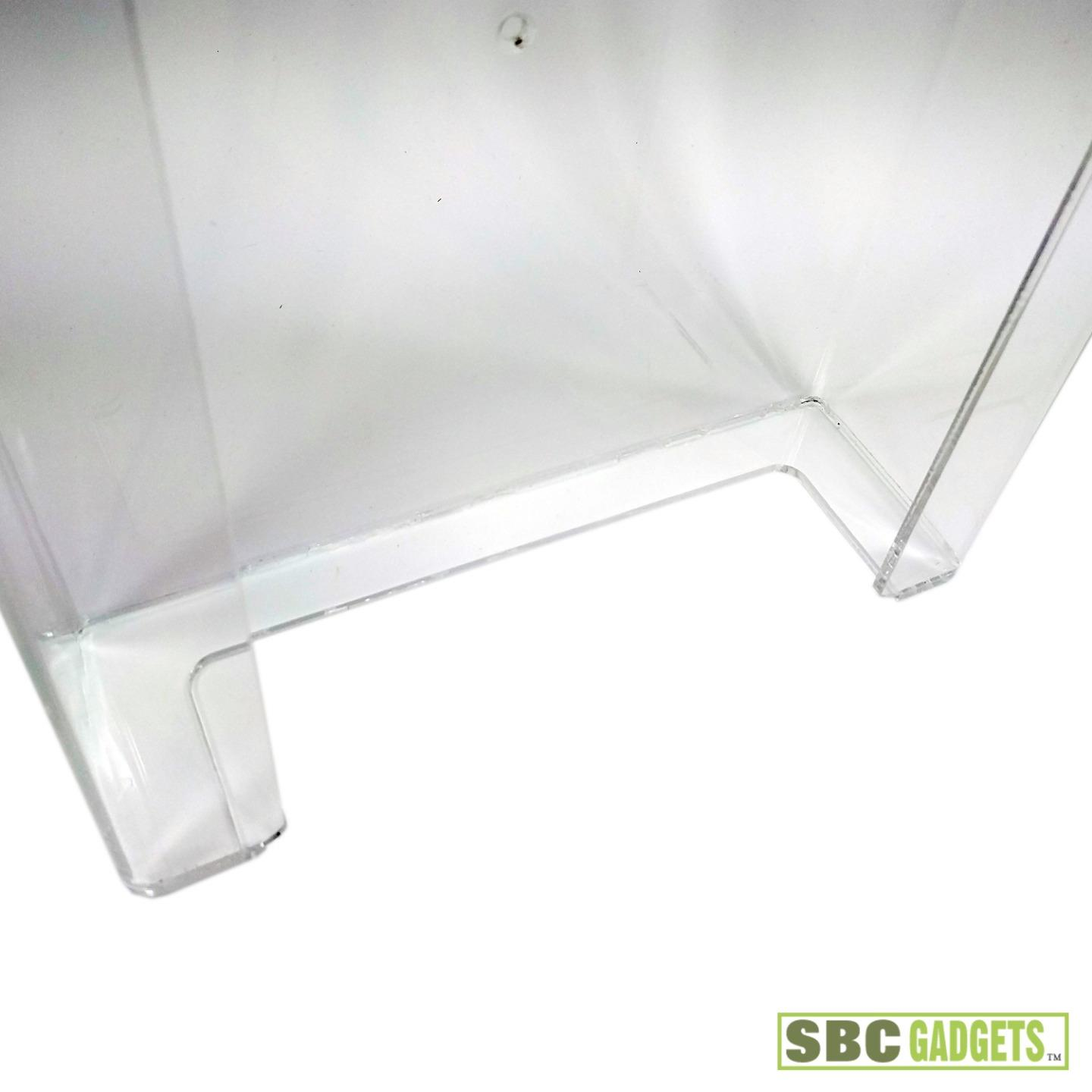 Medical Clear Acrylic Wall Mounted Dispenser Holder Glove Box Paper Towel Ebay