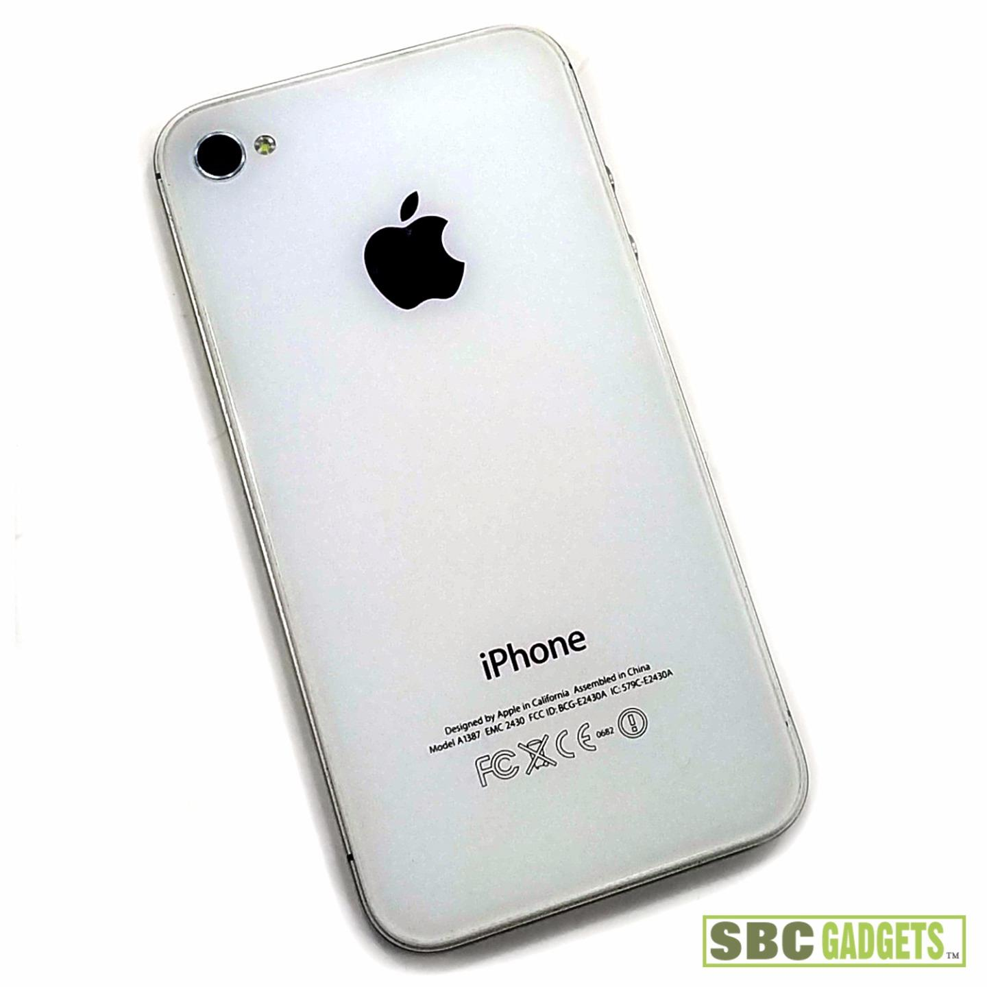 iphone model a1387 for parts apple iphone 4s white blue screen failure 12044