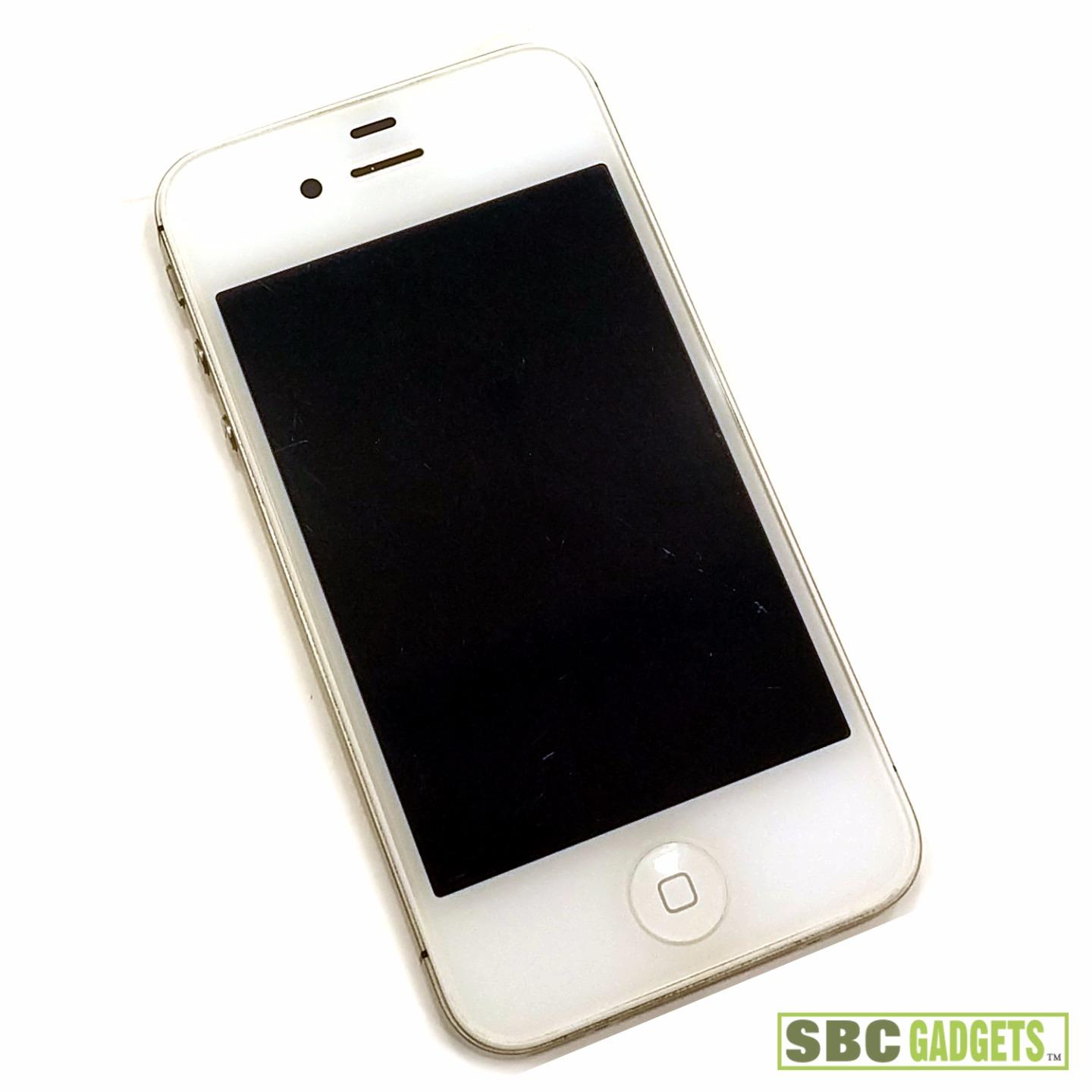 model a1387 iphone for parts apple iphone 4s white blue screen failure 9472