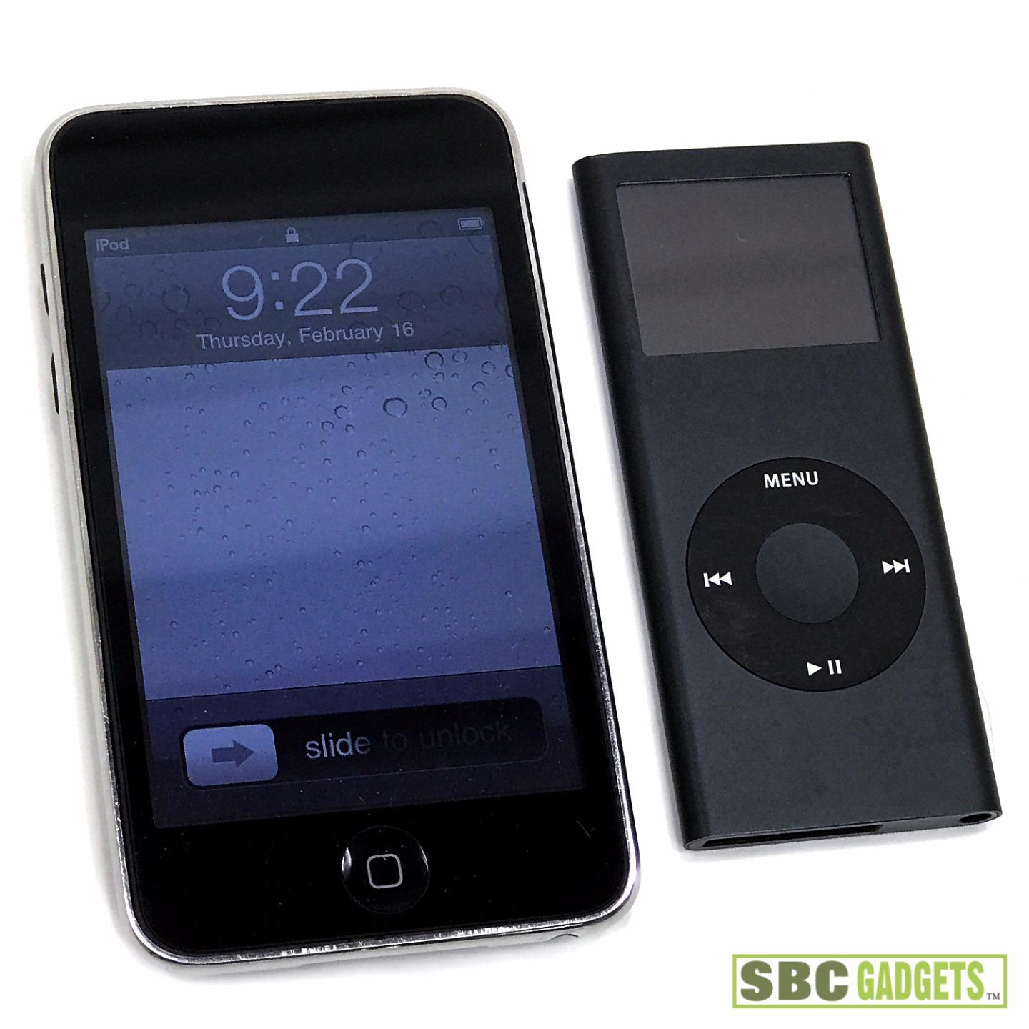 2 pack for parts ipod nano 8gb 2nd gen a1199 ipod. Black Bedroom Furniture Sets. Home Design Ideas