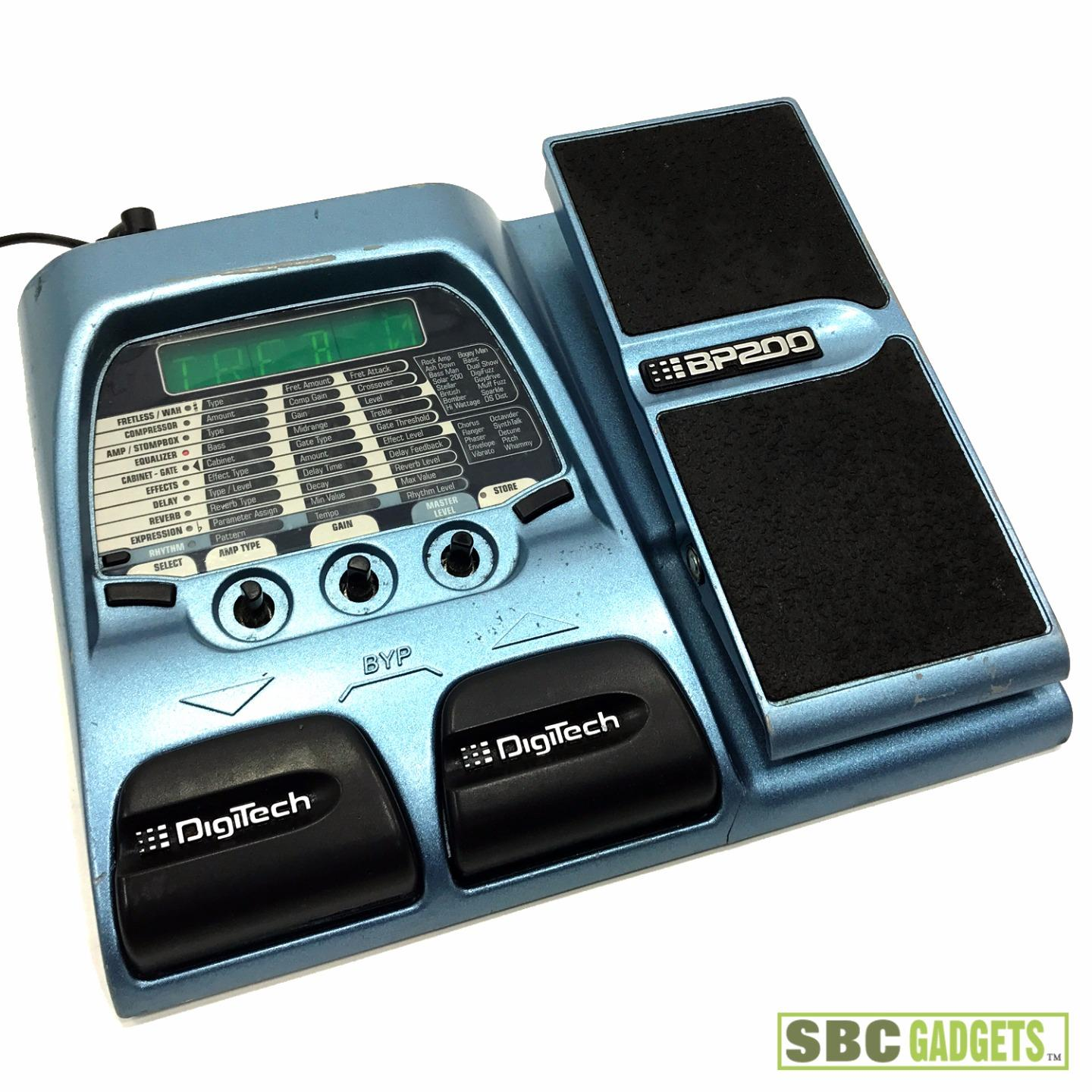 digitech multi effects bass guitar effects pedal model bp200 691991200359 ebay. Black Bedroom Furniture Sets. Home Design Ideas