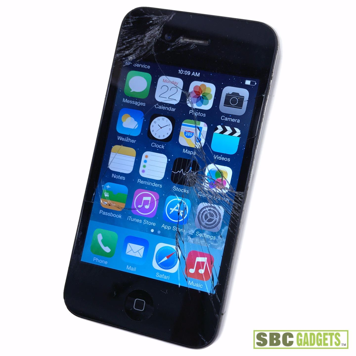iphone 4 8gb apple iphone 4 8gb black at amp t model md127ll a 10834