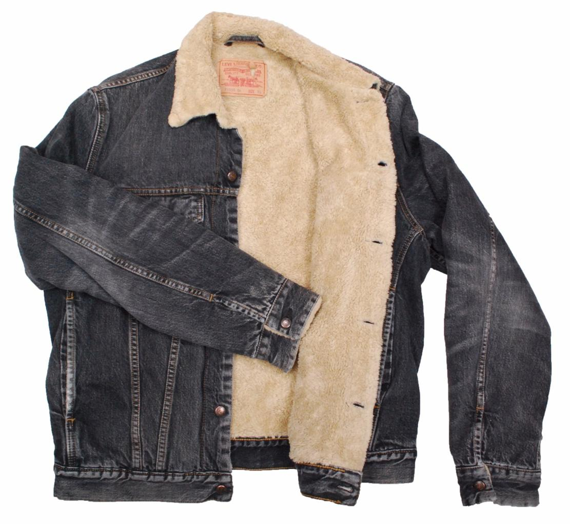 Levi Denim Jacket With Sheepskin Lining Mit Hillel