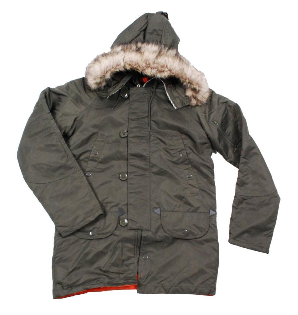 Vtg Mens Parka Snorkel Jacket Winter Coat 80s All Sizes