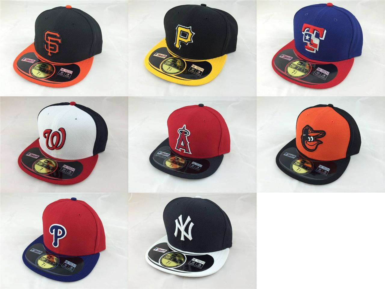 c9d68e4ef Details about New Era MLB 59Fifty 5950 Diamond Era Fitted Cap Hat Authentic  Collection