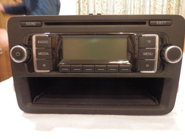vw rcd 210 mp3 player car stereo golf mk5 mk6 transporter. Black Bedroom Furniture Sets. Home Design Ideas