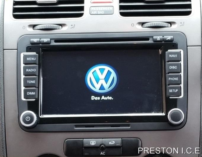 VW SAT NAV DVD Player Android Bluetooth Golf MK5 MK6 R32 GTI GTD TDI TSI GPS SE   eBay