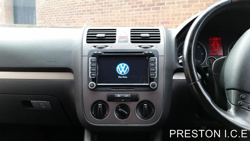 Vw Sat Nav Dvd Player Android Bluetooth Golf Mk5 Mk6 R32