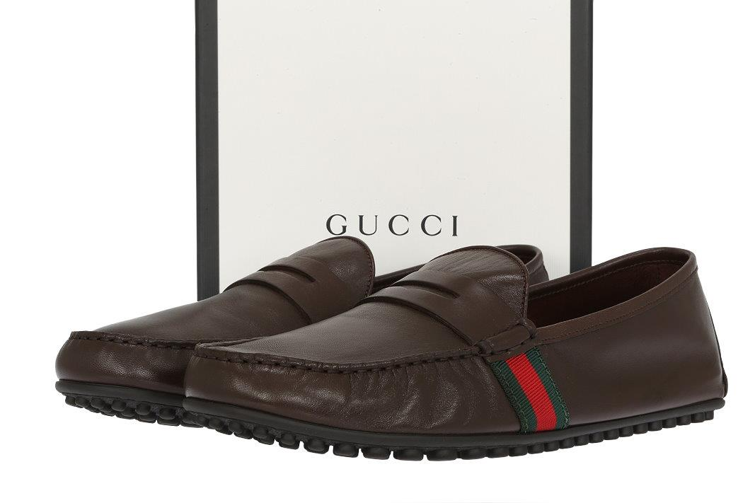 07e05b77877 BAGS GUCCI MEN S DRIVING MOCCASINS SHOES. MADE IN ITALY. 100% AUTHENTICITY  GUARANTEED. LUXURY QUALITY BROWN COLOR EXTRA SOFT UNLINED 100% LEATHER