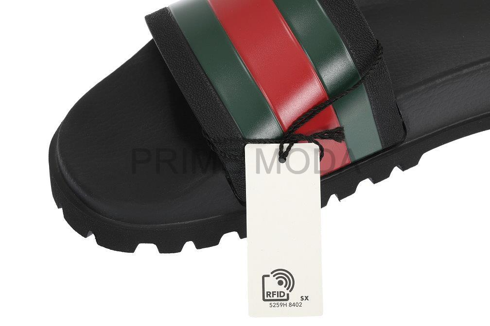 0f6d865691d9 LUXURY QUALITY BLACK COLOR RUBBER WITH GREEN RED COLOR WEB DETAILS. MOLDED  RUBBER FOOTBED. PLEASE CHECK SIZE GUIDE FOR THE SPECIFIC MODEL OF THE SHOES!