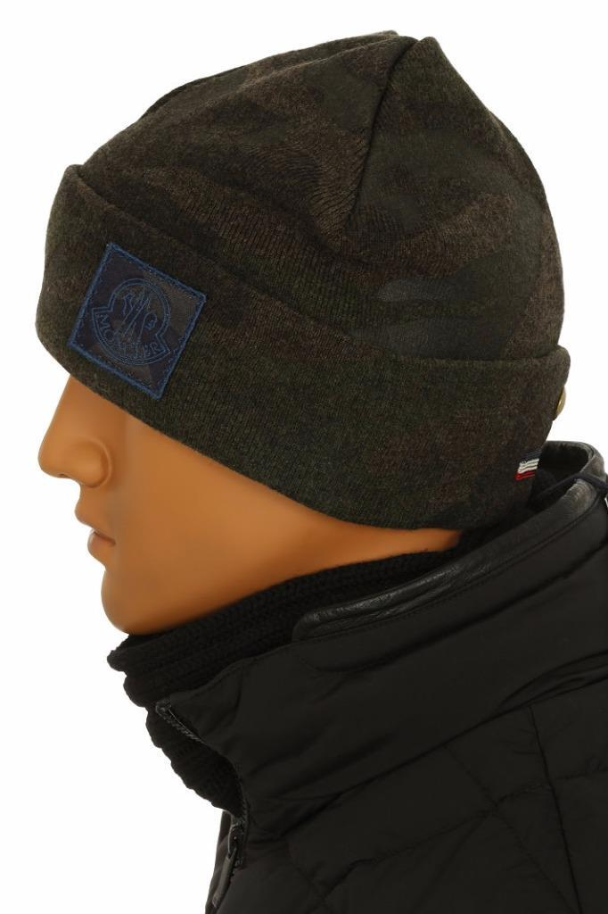 a911b681563 NEW WITH TAG MONCLER GAMME BLEU MEN S HAT FROM CURRENT COLLECTION. MADE IN  ITALY. 100% AUTHENTICITY GUARANTEED. LUXURY QUALITY CAMOUFLAGE PRINT 100%  WOOL