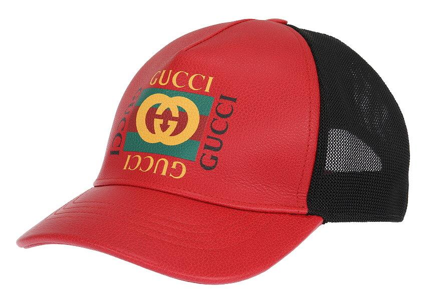 5f329d44728 ... GUCCI MEN S BASEBALL STYLE CAP FROM CURRENT COLLECTION. MADE IN ITALY.  100% AUTHENTICITY GUARANTEED. LUXURY QUALITY RED COLOR 100% LEATHER LOGO  WEB ...