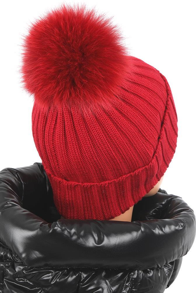 faadd8a2ac5 ... POM POM HAT. MADE IN ITALY. 100% AUTHENTICITY GUARANTEED. LUXURY  QUALITY BURGUNDY RED COLOR 100% WOOL