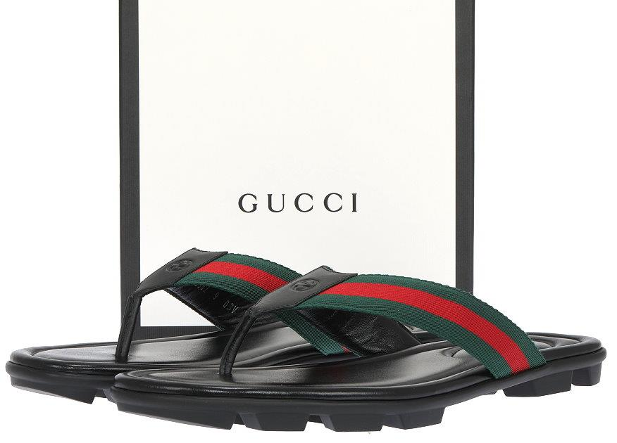 8f97866c9be GUCCI MEN S THONG FROM CURRENT COLLECTION. MADE IN ITALY. 100% AUTHENTICITY  GUARANTEED. LUXURY QUALITY BLACK COLOR 100% LEATHER
