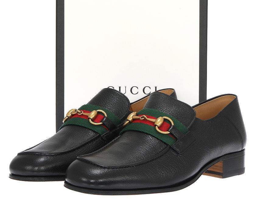 7610aa54a0c NEW WITH BOX AND DUST BAG GUCCI MEN S LOAFERS FROM CURRENT COLLECTION. MADE  IN ITALY. 100% AUTHENTICITY GUARANTEED. LUXURY QUALITY BLACK COLOR 100%  LEATHER