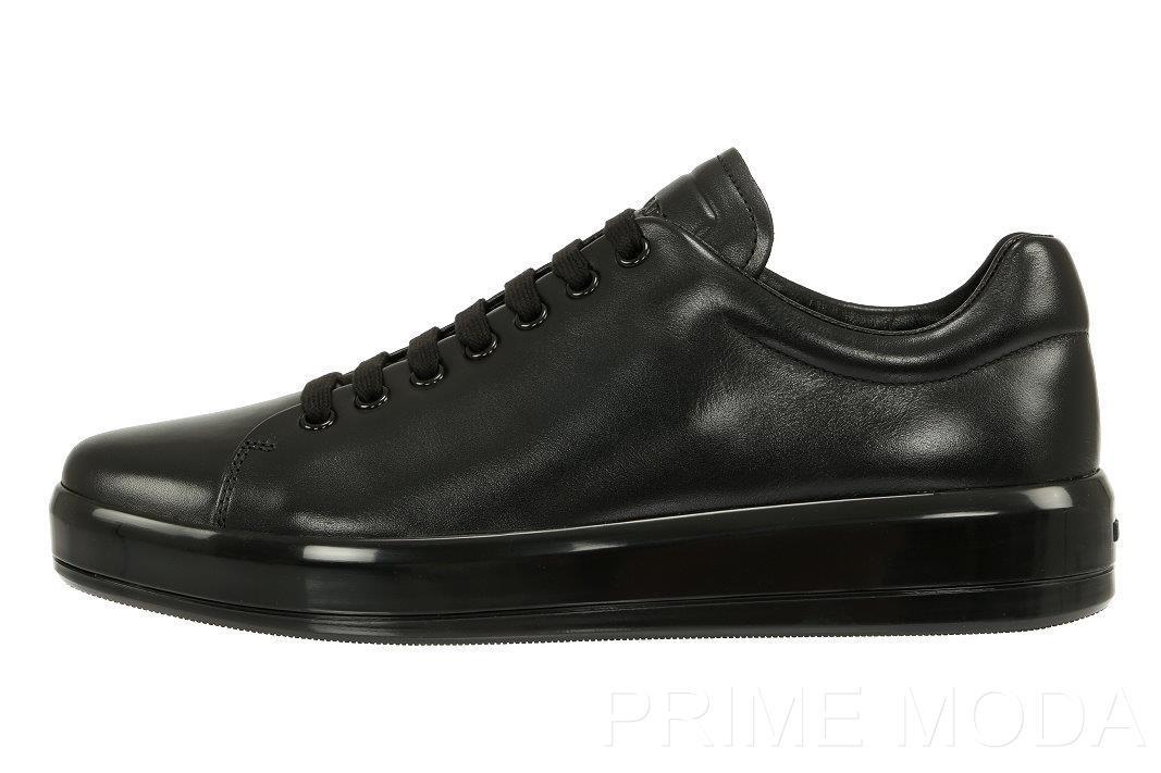 platform logo sneakers - Black Prada XaVykR3Z