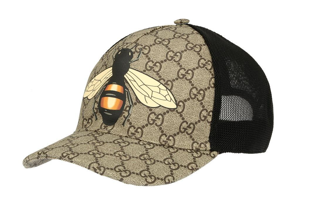 73373b9da ... GUCCI MEN'S BEE PRINT BASEBALL CAP FROM CURRENT COLLECTION. MADE IN  ITALY. 100% AUTHENTICITY GUARANTEED. LUXURY QUALITY GG SUPREME IN ORIGINAL  ...